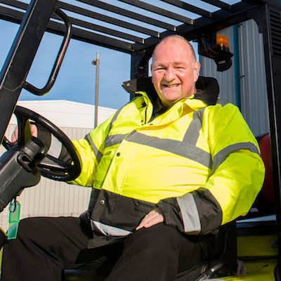 We helped Fork Truck Borders Instruction get the funding they needed to buy new machinery